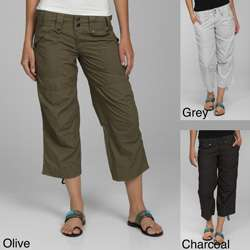 Calvin Klein Performance Womens Cinched Crop Cargo Pants