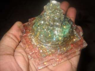 ORGONE PYRAMID EXTREME POWERFUL SUPER WEALTH ENERGY MERU SHREE YANTRA