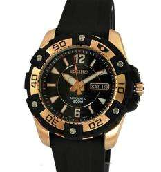 Seiko Mens Automatic Gold Plated Divers Watch  Overstock