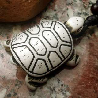 Unique Yak Bone Sea Turtle Pendant Necklace Free Shipping