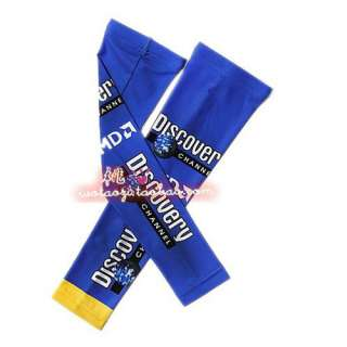 NEW 2011 Cycling bicycle bike Sport Arm Warmers Blue