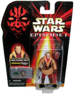 Star Wars Episode I Ric Olie Pilot Action Figure MOC