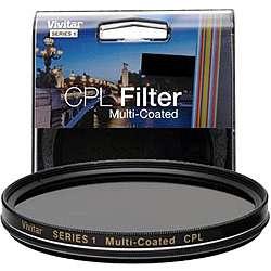 Vivitar 55mm Multicoated Circular Polarizer Filter