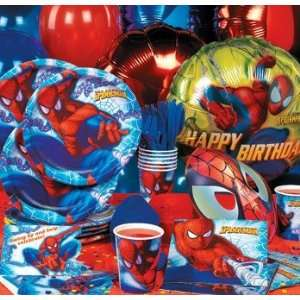 Party Supplies the Amazing Spiderman Deluxe Party Pack