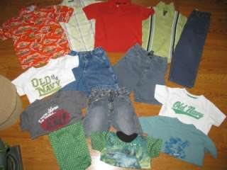 of Boys Summer Clothes Size 4T  5 Old Navy GAP OP Shorts Pants Tops