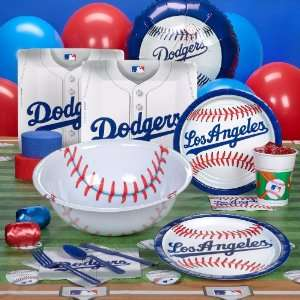Los Angeles Dodgers Baseball Deluxe Party Pack for 18 Toys & Games