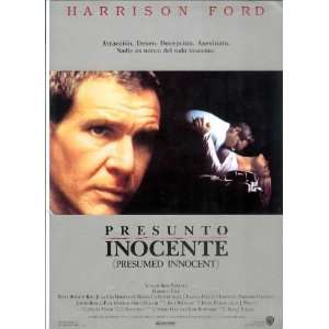 Presumed Innocent Movie Poster (11 x 17 Inches   28cm x 44cm) (1990