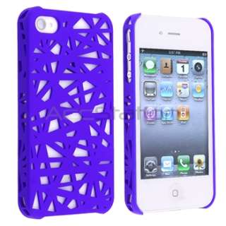 Blue Bird Nest Interwove Line Hard Case Cover+PRIVACY FILTER for