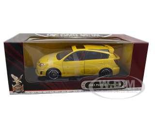 car model of 2003 Pontiac Vibe GTR die cast car by Road Signature