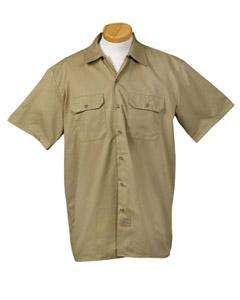 Dickies Mens 5.25 oz. Short Sleeve Work Shirt 1574