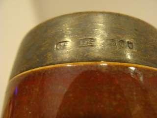 DOULTON LAMBETH 1891 1902 Antique HUNT SPIRIT MEASURE STERLING RARE