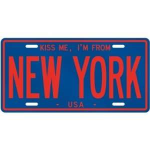 NEW  KISS ME , I AM FROM NEW YORK  UNITED STATES LICENSE