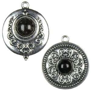 Cousin Jewelry Basics 2 Piece Round Cabochon Accent
