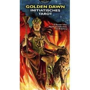 Golden Dawn Tarot: 78 Karten mit dt. Anleitung. Initiatisches Tarot