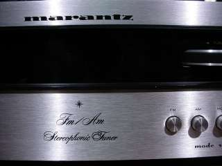 Marantz Vintage Solid State Stereo FM Tuner Model 110 Very Nice