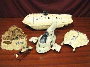 Empire Strikes Back Snow Speeder GR 75 Transport Slave 1+Xtras