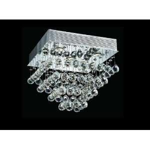 Ceiling Mount Dressed with European or Swarovski Crystals SKU# 10285