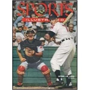 com Original April 18 1955 Sports Illustrated w card insert   Sports