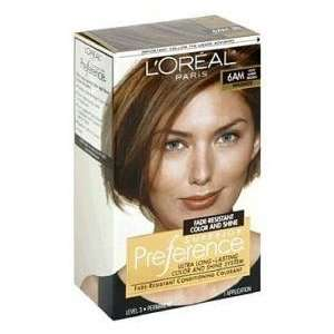 Loreal Superior Preference #6AM (Warmer) Light Amber Brown