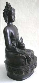 ESTATE STATUE BUDDHA BRONZE MEDICINE BUDDHA LARGE