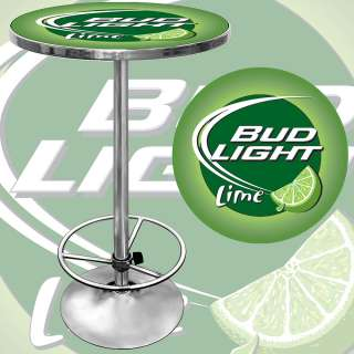 Bud Light Lime Beer Pub Table Game Room Bar Table 844296079254