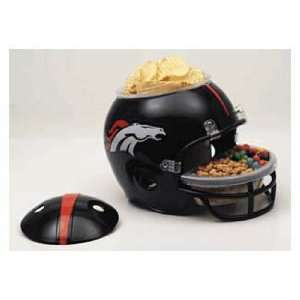 DENVER BRONCOS NFL Football Party Snack HELMET for Chips