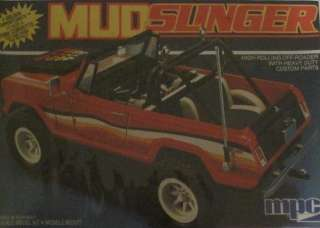 MPC Mud Slinger High Rolling Off Roader Jeep Model