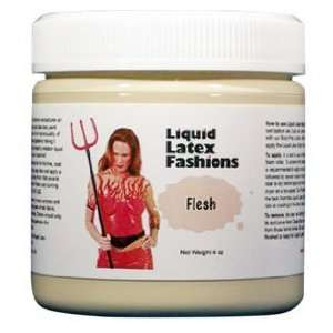 Ammonia Free Liquid Latex Body Paint   4oz Flesh: Beauty