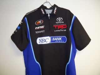 TOYOTA NASCAR K&N SERIES CREW SHIRT NASCAR M XL ARCA IMCA UMP SCCA