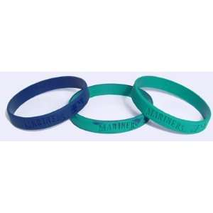 Major League Baseball Team Wrist Band Sets   Seattle