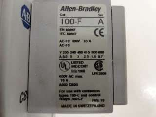 Allen Bradley Contactor Catalog# 100 C85D*00