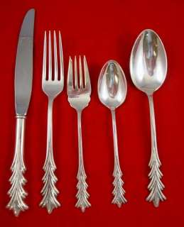 CREST OF ARDEN TUTTLE Sterling Silver FLATWARE SET
