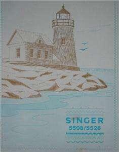 Singer Model 5508 Sewing Machine Manual On CD