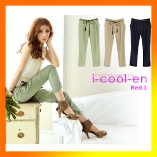 clothing casual pants OL fashion bowknot harem pants SLIM Baggy/Loose