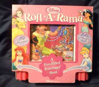 Disney Princess Roll A Rama Scavenger Hunt Book 2005