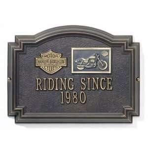 HARLEY DAVIDSON ® Sportster Medallion Wall Plaques
