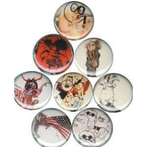 Ralph Steadman Buttons Pins Badges