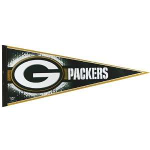 Green Bay Packers   Logo 12X30 Pennant: Sports