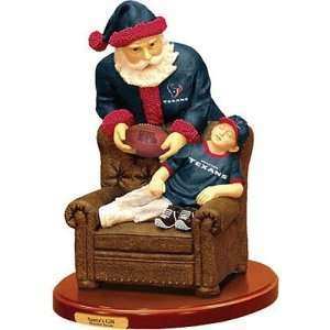 Houston Texans NFL Santas Gift Figurine: Sports