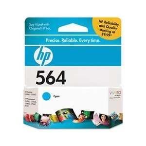 Hewlett Packard Hp Brand Photosmart C6380   1 #564 Standard Cyan Ink