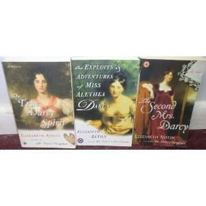 ELIZABETH ASTON Books (The True Darcy Spirit / The Second Mrs. Darcy