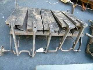Lot Duo Art Ampico Player Piano Air Motor Roll Frame Parts