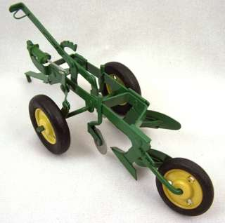 1950s John Deere Ertl Eska Toy Plow Farm Toy Near Mint In Box MUST SEE