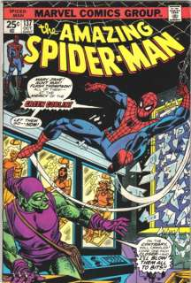 the Amazing Spider Man Comic Book #137, 1974 VERY FINE