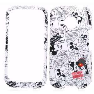 Disney Mickey Mouse Black and White Comic Strip Rubber