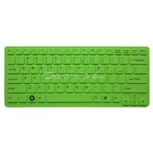 Green Keyboard Skin/Cover for Sony VAIO VPCCA series