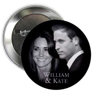 Prince William Kate Middleton Royal Wedding 2.25 Pinback