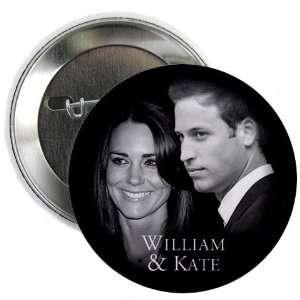 Prince William Kate Middleton Royal Wedding 2.25 Pinback