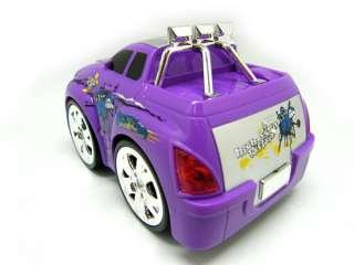 New mini micro stunt rc radio remote control car purple