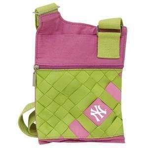 NY Yankees Game Day Purse   Hot Pink/Apple Green